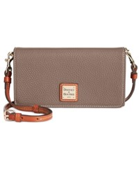 Dooney And Bourke Pebble Daphne Crossbody Elephant