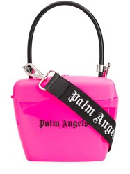 Palm Angels Padlock Tote Pink