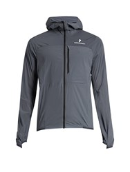 Peak Performance Light Wind Stretch Nylon Jacket Grey