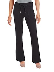 Calvin Klein Solid Drawstring Sweatpants Black