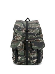 Herschel Supply Co. Nixon Camouflage Print Backpack Green