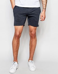 Only And Sons Jersey Shorts Navy Blue