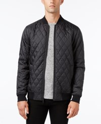 Kr3w Men's Bowery Quilted Full Zip Jacket Carbon