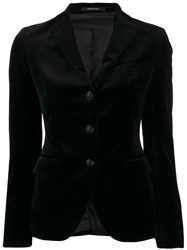 Tagliatore Tailored Blazer Black