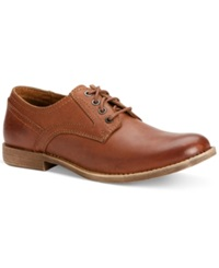 Calvin Klein Jeans Parry Plain Toe Oxfords Men's Shoes Tan