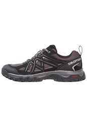 Salomon Evasion 2 Aero Walking Shoes Black Magnet Alloy Dark Grey