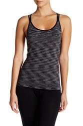 Shimera Seamless Racerback Shelf Cami Black