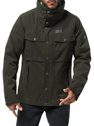 Jack Wolfskin Fraser Canyon 'S Waterproof Jacket Pinewood