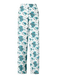 Miss Selfridge Turquoise Lily Wide Leg Blue