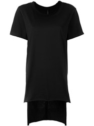 Barbara I Gongini Tail Shortsleeved T Shirt Black