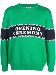 Opening Ceremony Kelly Sweater Green