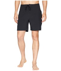 Toes On The Nose Jaws Stretch Boardshorts Black Swimwear