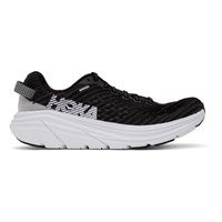 Hoka One One Black And White Rincon Sneakers