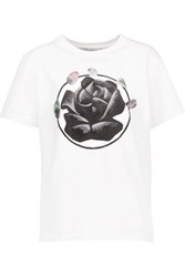 J.W.Anderson Printed Cotton T Shirt White