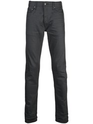 John Elliott Slim Fit Trousers Grey