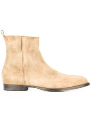 Buttero Soft Ankle Boots Nude Neutrals