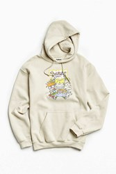 Urban Outfitters Rugrats Best Friends Hoodie Sweatshirt Taupe