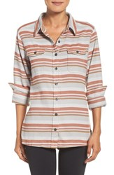 Patagonia Women's 'Fjord' Flannel Shirt Arborist Drifter Grey
