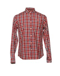 Napapijri Shirts Red