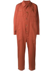Henrik Vibskov Coast Jumpsuit Orange