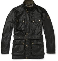 Belstaff Roadmaster Waxed Cotton Jacket Black