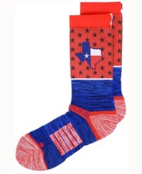 Strideline Dallas City Socks Ii Red Blue