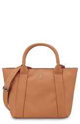 Vessel Signature 2.0 Faux Leather Mini Tote Brown