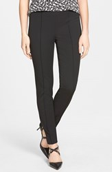 Women's Vince Camuto Side Zip Skinny Pants Rich Black
