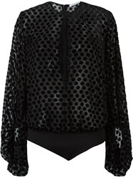 Camilla And Marc 'Carmine' Bodysuit Blouse Black