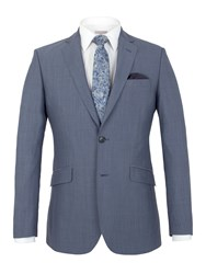 Alexandre Of England Southwark Panama Tailored Fit Jacket Airforce Blue