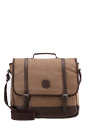 Pier One Briefcase Brown Dark Brown