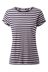 Tommy Hilfiger Basic Stripe T Shirt White