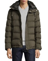 Burberry Basford 2 In 1 Puffer Jacket Olive