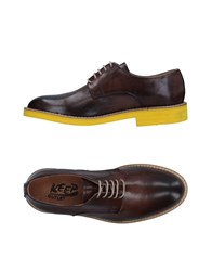 Keep Lace Up Shoes Dark Brown