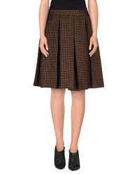 Trou Aux Biches Knee Length Skirts Cocoa
