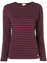 Armor Lux Striped Jersey Red