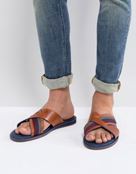 1d1ff1a73d2b6 Ted Baker Farrull Sandals In Brown Leather