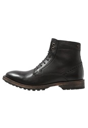 Frank Wright Acton Laceup Boots Black