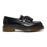 Dr. Martens Black Leather Adrian Loafers