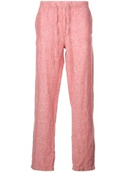 Onia Relaxed Fit Carter Trousers Red