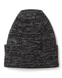 Bloomingdale's The Men's Store At Merino Melange Cuffed Hat Charcoal Grey