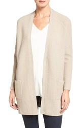Nordstrom Women's Collection Cashmere Open Front Cardigan