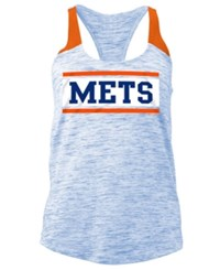 5Th And Ocean Women's New York Mets Space Dye Tank Royalblue