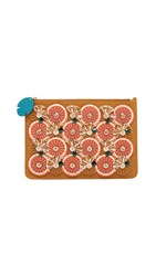 Sophie Hulme Embellished Citrus Pouch