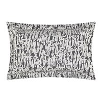 Harlequin People Oxford Pillowcase Charcoal