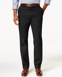 Tasso Elba Men's Regular Fit Pants Black