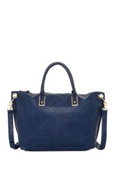 Urban Expressions Arded Convertible Shoulder Tote Blue