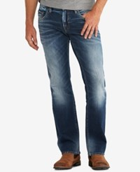 Silver Jeans Co. Men's Nash Classic Fit Stretch Indigo