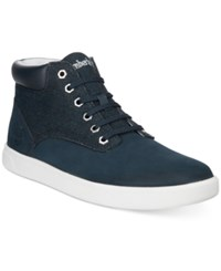 Timberland Men's Earthkeepers Groveton Hi Top Sneakers Men's Shoes Blue