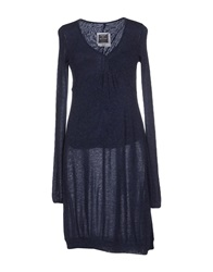 Made In Heaven Short Dresses Dark Blue